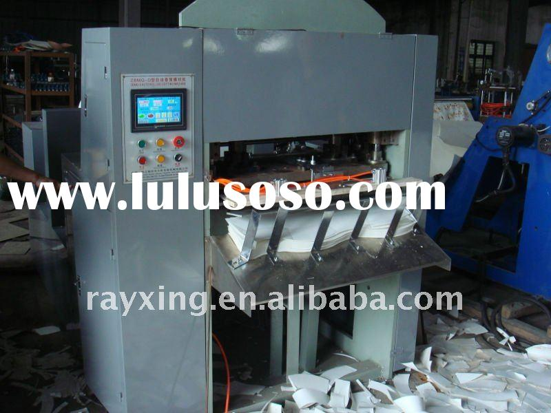 Roll Die cutting machine for making paper cup