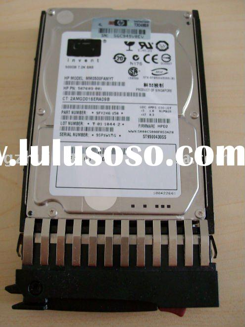 SAS 500GB 7.2k internal hard drive 507610-b21