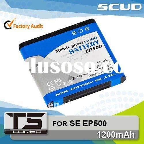 SCUD hot cell phone rechargeable battery for Sony Ericsson EP500