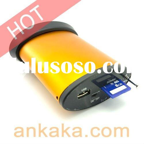 SD/MMC/USB Card Reader w/ Music Stereo Speaker, LCD screen, FM radio and Remote Control