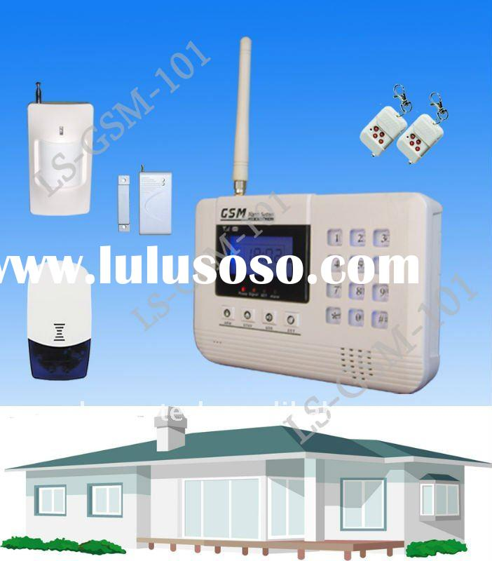 SIM card GSM Home Alarm Security Wireless System(LS-GSM-101)
