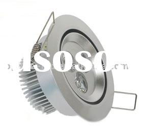 Sell high power recessed LED Ceiling Light/LED downlight/LED residential lighting