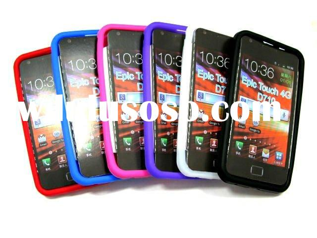 Soft Back Silicone Case For Samsung Epic Touch 4G D710 Sprint's Galaxy S2