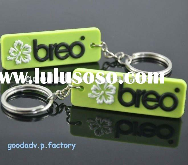 Soft PVC keychain,Rubber key rings,promotion gifts keychain-A2011