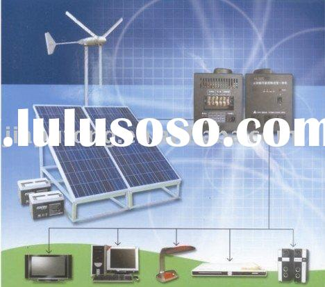 Solar wind hybrid power system