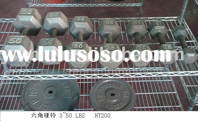 Solid Iron Dumbell