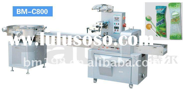 Sphery Lollipop Candy Automatic Packaging Machinery
