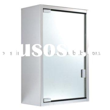 Stainless Steel Wall Mounted Cabinet With Mirror