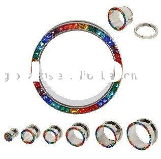 Stainless Stell Ear Plug Piercing Jewelry
