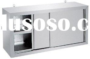 Stainless steel Wall mounted kitchen cabinet/ Wall kitchen cabinet