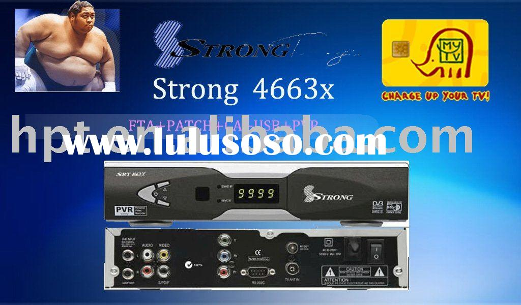 Strong SRT4663X strong4663x digital satellite receiver(dvb-s) set top box