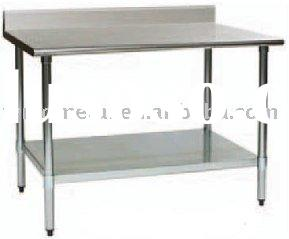T-2-D stainless steel restaurant kitchen work table,operation bench,workbench