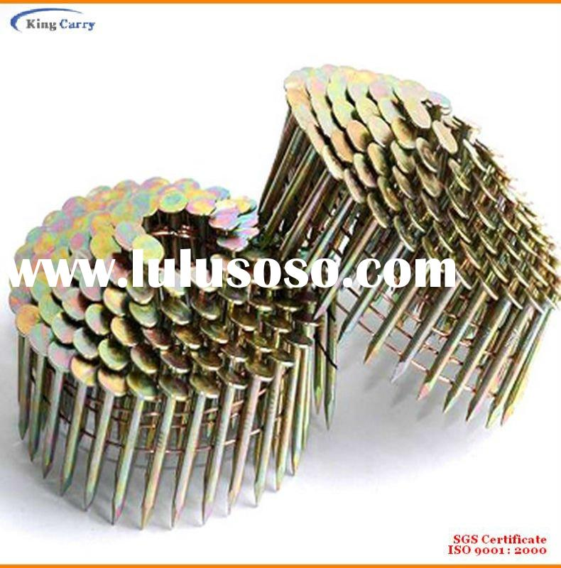 Top Quality Electro-Galvanized Roofing Coil Nails/Plastic Strip Nails/Paper Tape Nails.