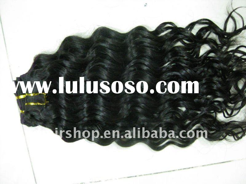 Top quality curly hair beauty wavy wholesale price