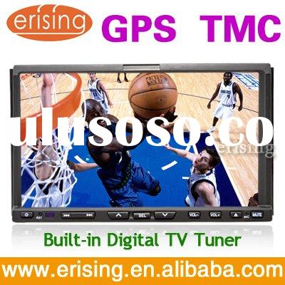 "Touch screen HD 7"" 2 din car stereo DVD GPS DVB-T TMC Slide Menu"