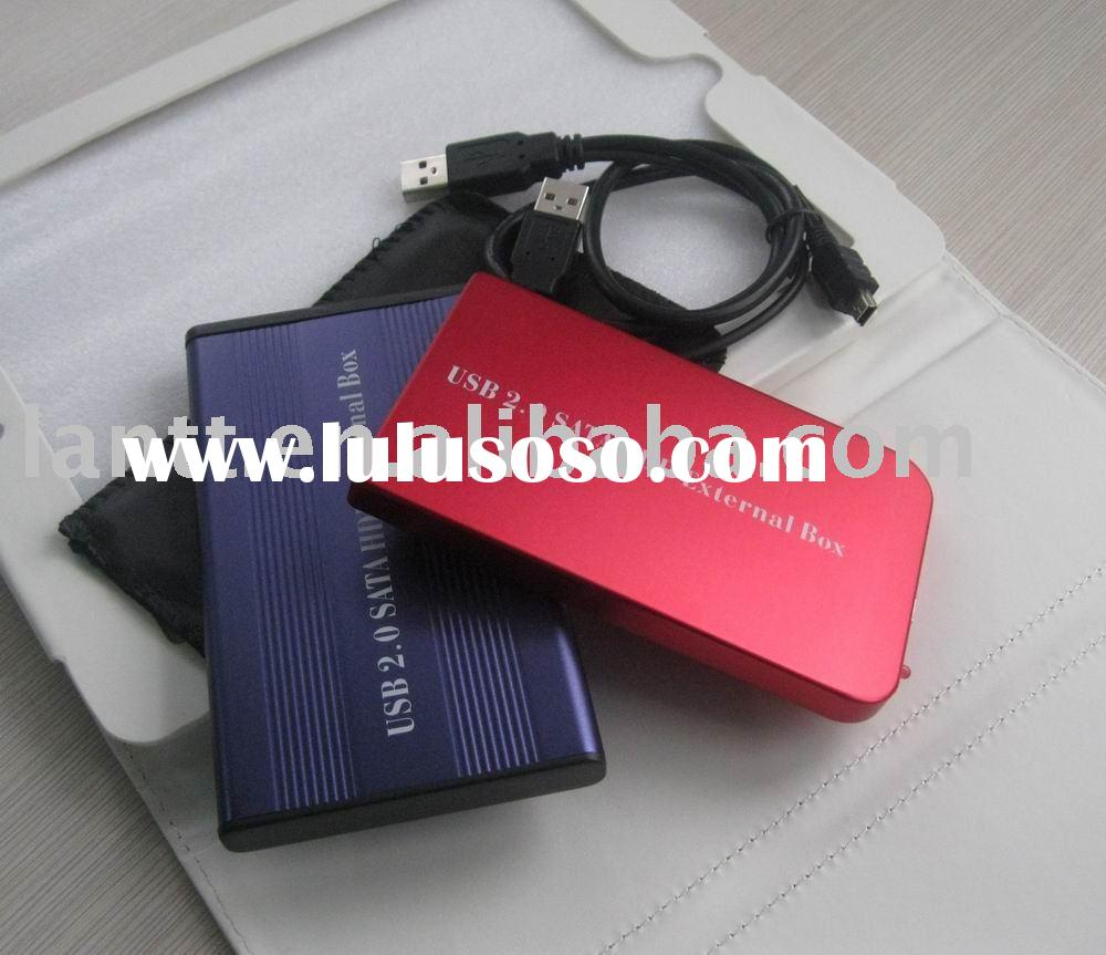 USB 2.0 SATA hard drive HDD External Box