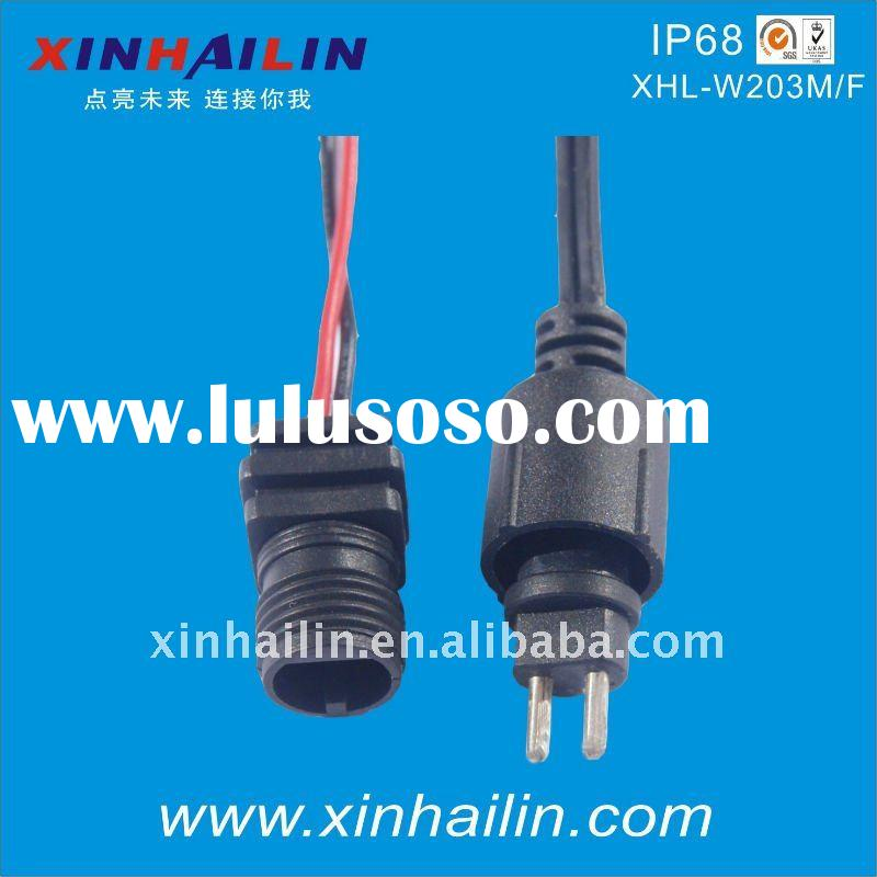 Universal 2 Pin Male Female Waterproof Connector IP68