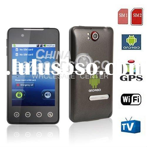 Unlocked GSM Quad Band Android 2.2 mobilephone Google android mobile phone G9 accept paypal