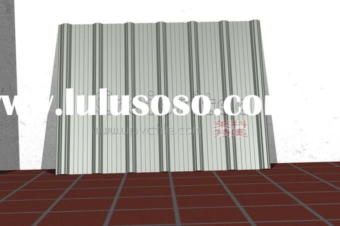 Upvc roof tiles for heat insulation roofing system gy1004 (6)