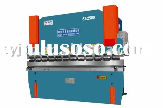 WC67Y-63/2500 Series CNC Hydraulic metal sheet press brake