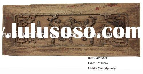Wall decoration,figure wooden carving,Chinese culture