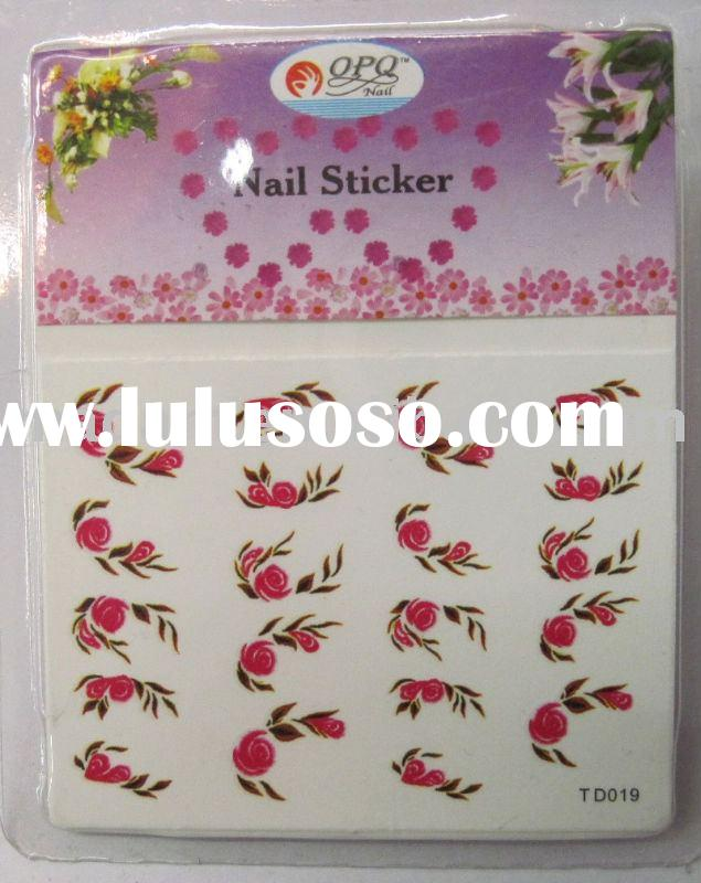 Water transfer Nail art sticker, nail art, nail decoration (MD-WTS10)