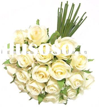 Wedding Flower ( Rose Bouquet of 26 Flowers), Silk Wedding Flower