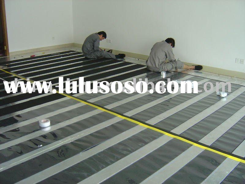 Wind and light integration power floor heating system (low carbon environment, zero emission)