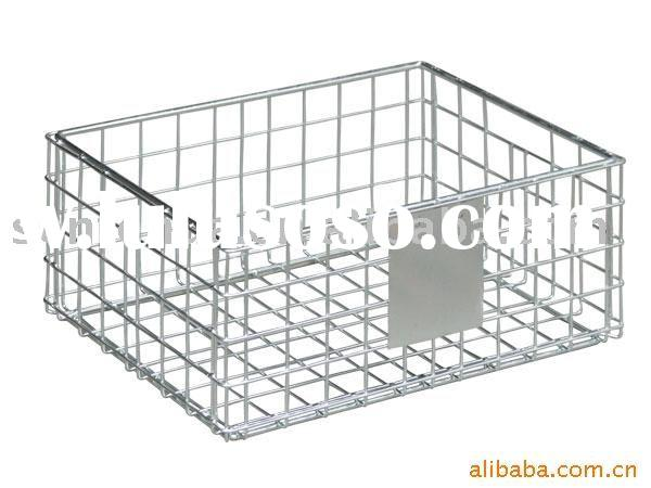 Wire mesh basket/wire mesh container/stacking basket