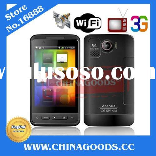 accept paypal capacitive Touch screen GSM+WCDMA Unlocked Single Sim Card Google android 2.2 3G mobil