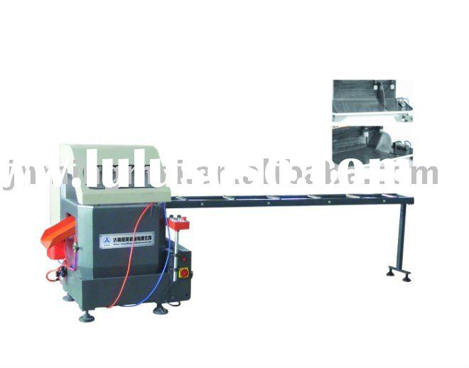 aluminum window making machine ---single-head high-efficiency cutting saw for aluminum profile