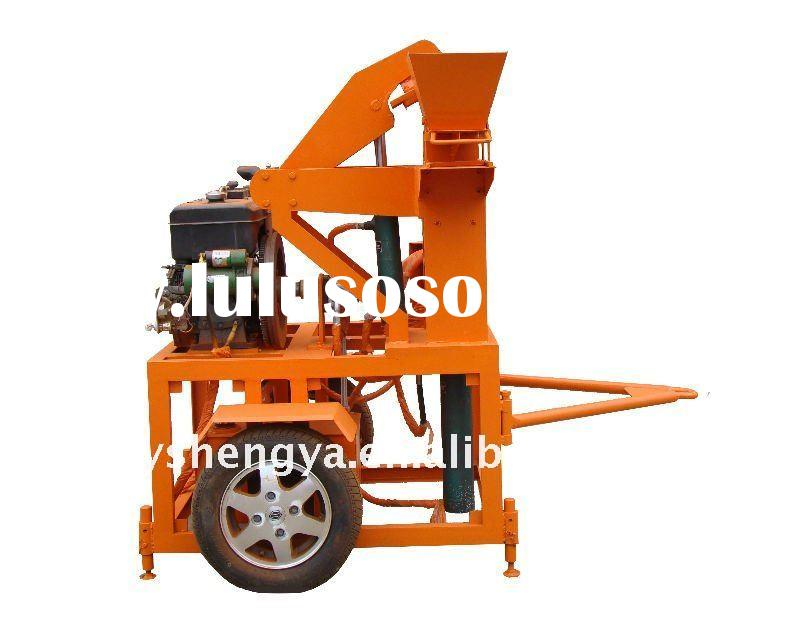 automatic hydraulic compressed clay block making machine(SY1-20)