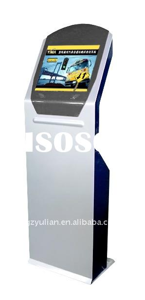 bank payment kiosk with cash acceptor and printer/ 3G/ Wifi/ Wireless Lan