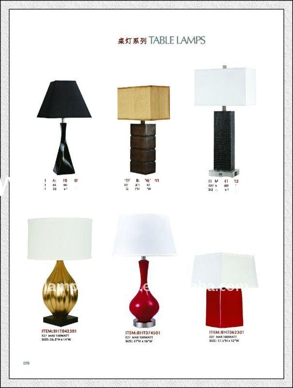 battery operated table lamps/high quality disposable hotel shampoo