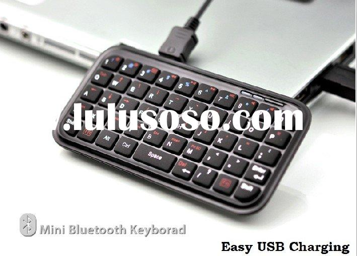 bluetooth mini wireless silicone rubber keyboard for ps3