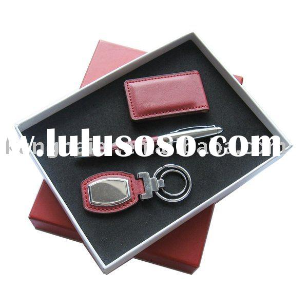Pcs business gift set with name card holder for sale