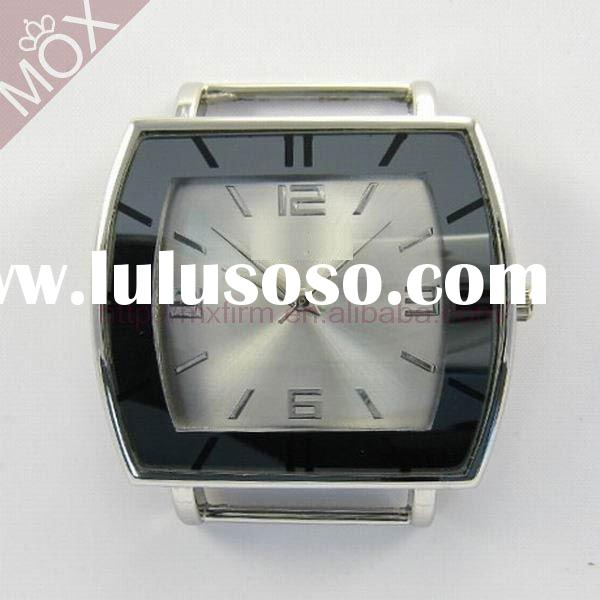 chunky ladies black watch with big face for women