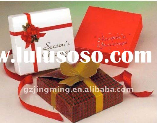 comestic paper box for gift packaging