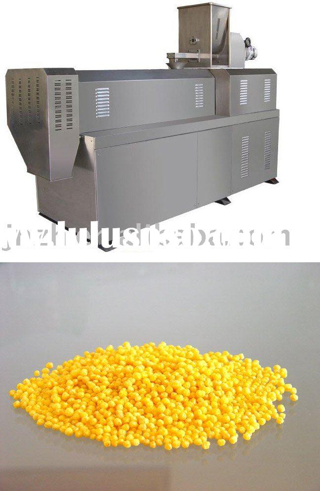 corn flakes snack food processing line