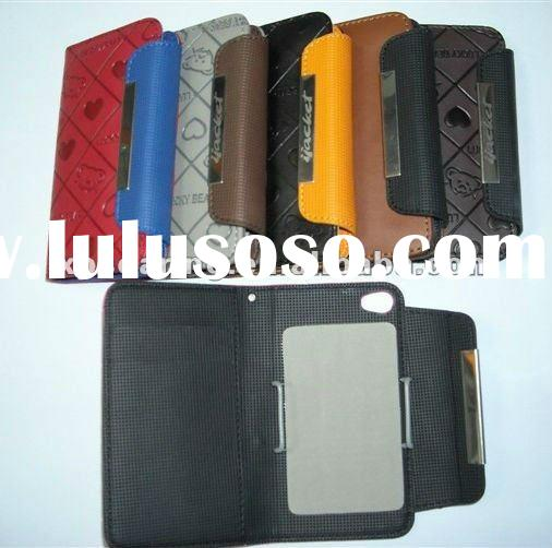 credit card leather case pouch for iphone 4G 4S