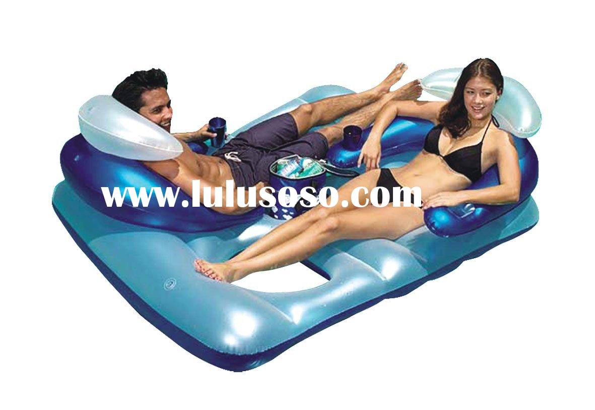 double lounge,air mattress,float,inflatable float,inflatable mattress,water toy,pvc inflatable mattr