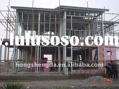 Prefabricated steel sip house for sale price china for Sip house cost