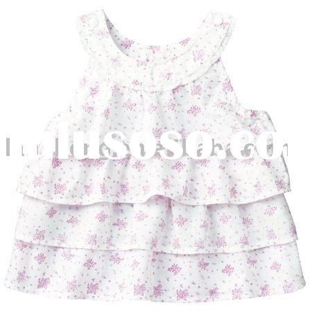 fashion cotton lovely baby girl dresses