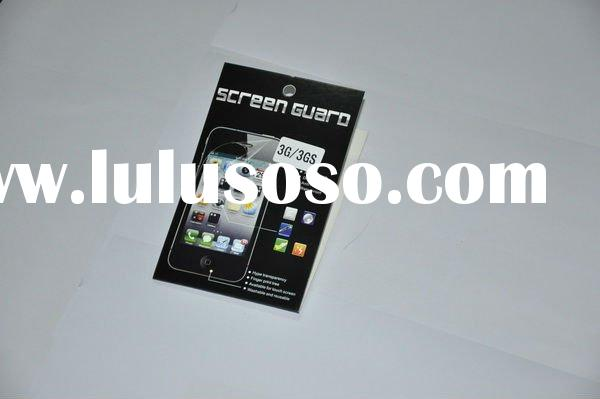 for iphone 3gs anti-glare screen guard,screen protector,paypal is accepted.