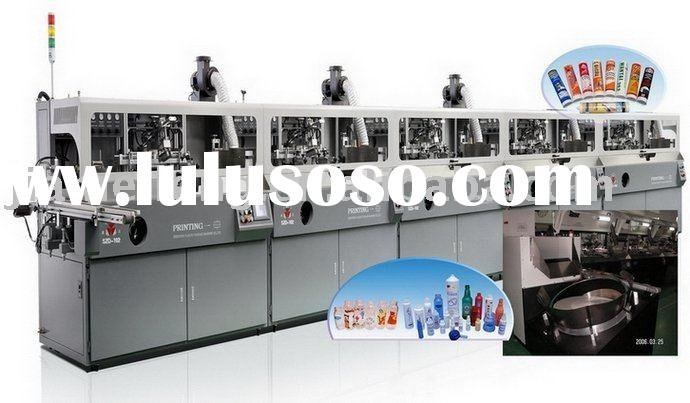 full automatic plastic bottle/container screen printing machinery SZD-102A