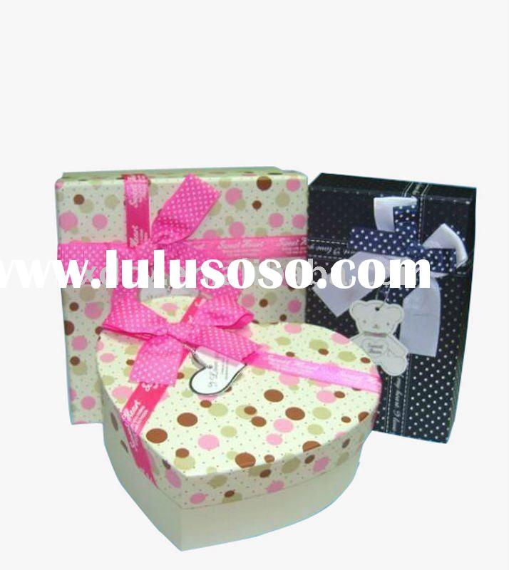 fully-popular paper gift box for packaging