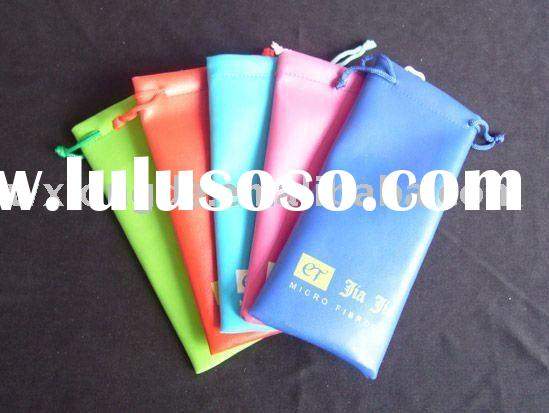 glasses pouches/glasses bags/jewelery bags/fashionable bags/ gift bags/packaging/drawstring bags/pro