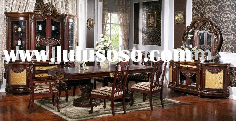 home furniture european classic dining room set 8022