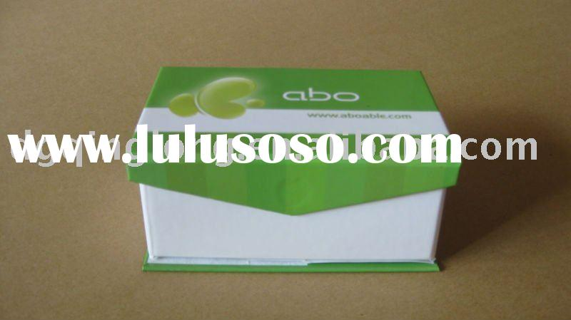 hot sell custom green paper phone paper box with magnet made in china QL-4