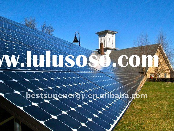 hybrid solar wind power generator 5000w